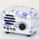 Hot Selling Retro TV Shape Portable Wireless rohs mini Blue-tooth Speaker