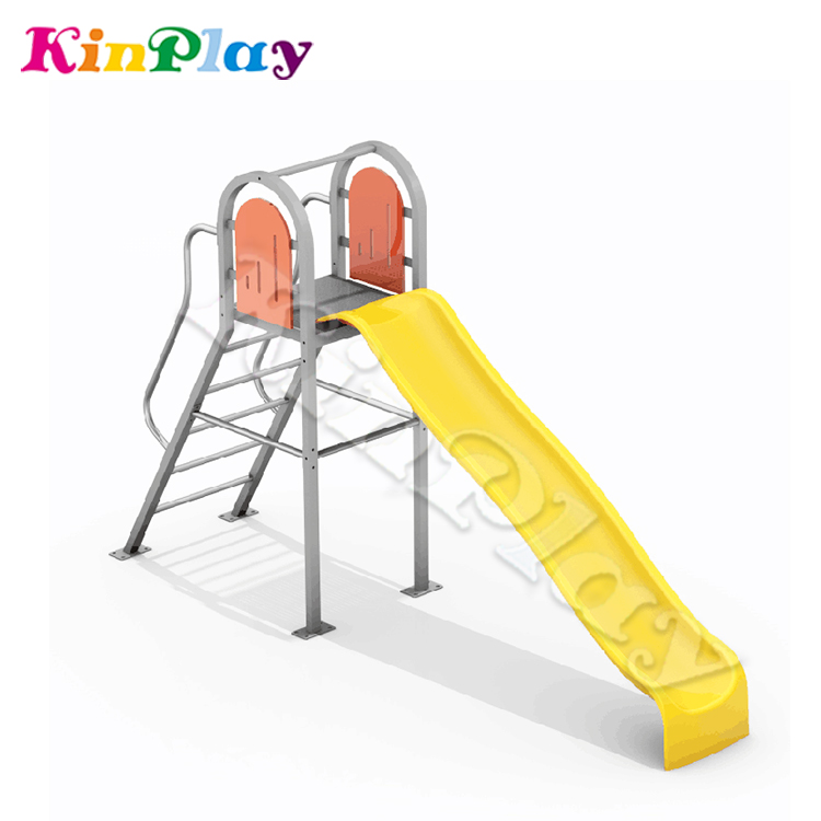 KINPLAY Brand 2018 Newest Children Playground Sets Beautiful Plastic <strong>Slides</strong>