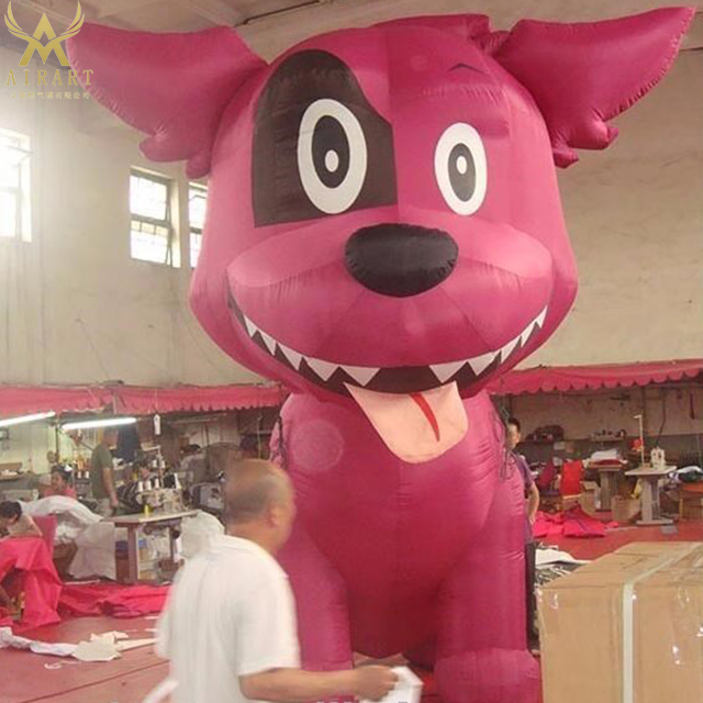 giant advertising party decoration advertising inflatables inflatable dog cartoon character