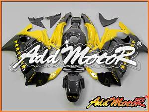 Addmotor Injection Mold Fairing Fit F3 CBR600 1995 1996 Sevenstars Yellow H3515