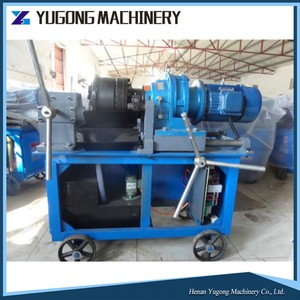 skilfull manufacture spoke thread rolling machine