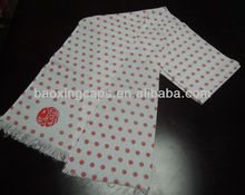 customized print cotton promotional scarf
