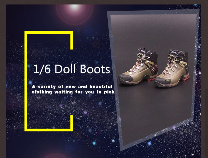1//6 Soldier Hiking Boots US Military Navy Seal Hollow No feet Shoes F12/'/' Figure