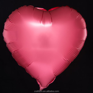 Heart Foil Balloon Valentine's Day Happy Marry Aluminum Balloons for Celebration pass BSCI