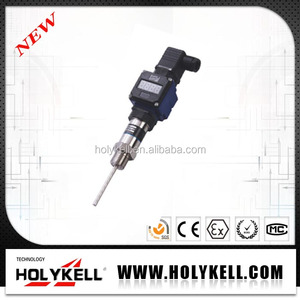 Holykell factory 40-300 bar, 2 wires/3wires optional duplex rtd pt100 sensor with gauge