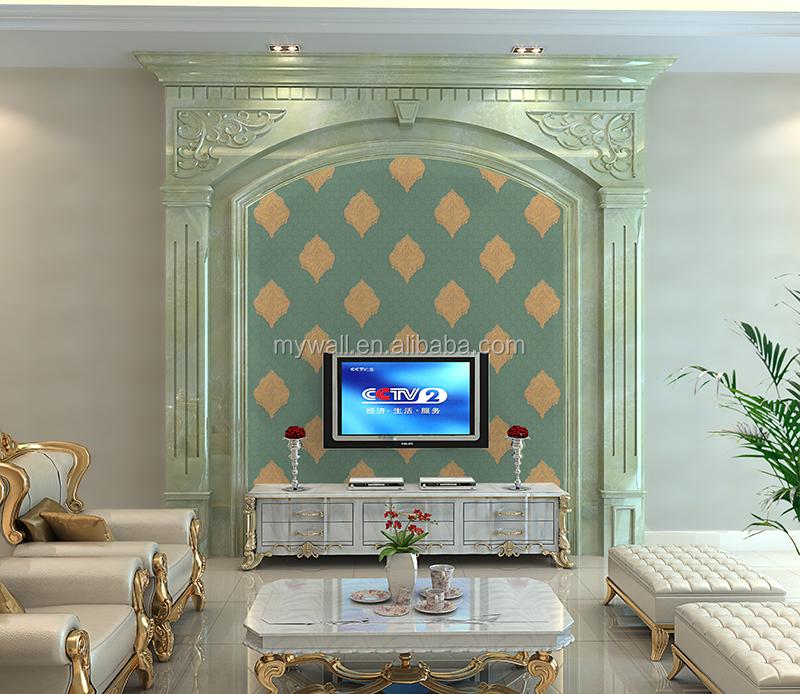 Royal Ceiling Indian Design Wallpaper Buy Design Velvet Wallpaper
