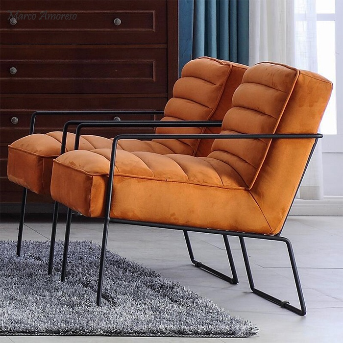 New hot sale Metal Lounge Chairs leisure chair in living room