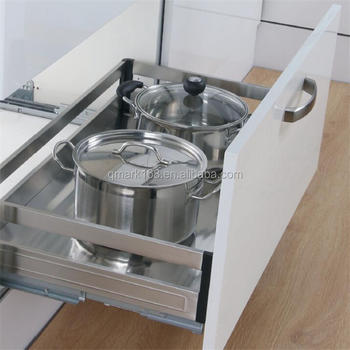 Stainless Steel Kitchen Cabinet Drawer Basket Pull Out Basket Stove