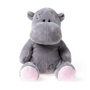 China professional toys factory provide plush lovely stuffed hippo