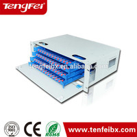2015 hottest product Tengfei provide 24 Port Wall Mount Patch Panel/Fiber Optic Patch Panel ODF