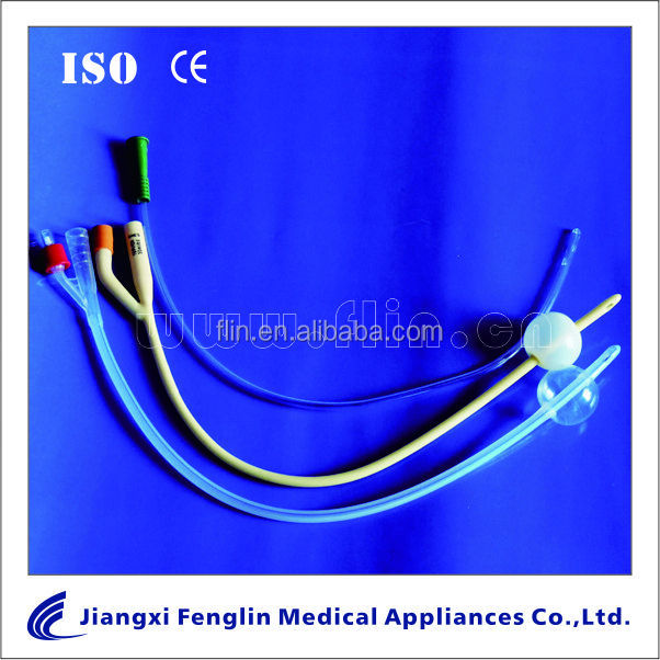 Hydrophilic Foley Catheter/Tube 1/2/3 way