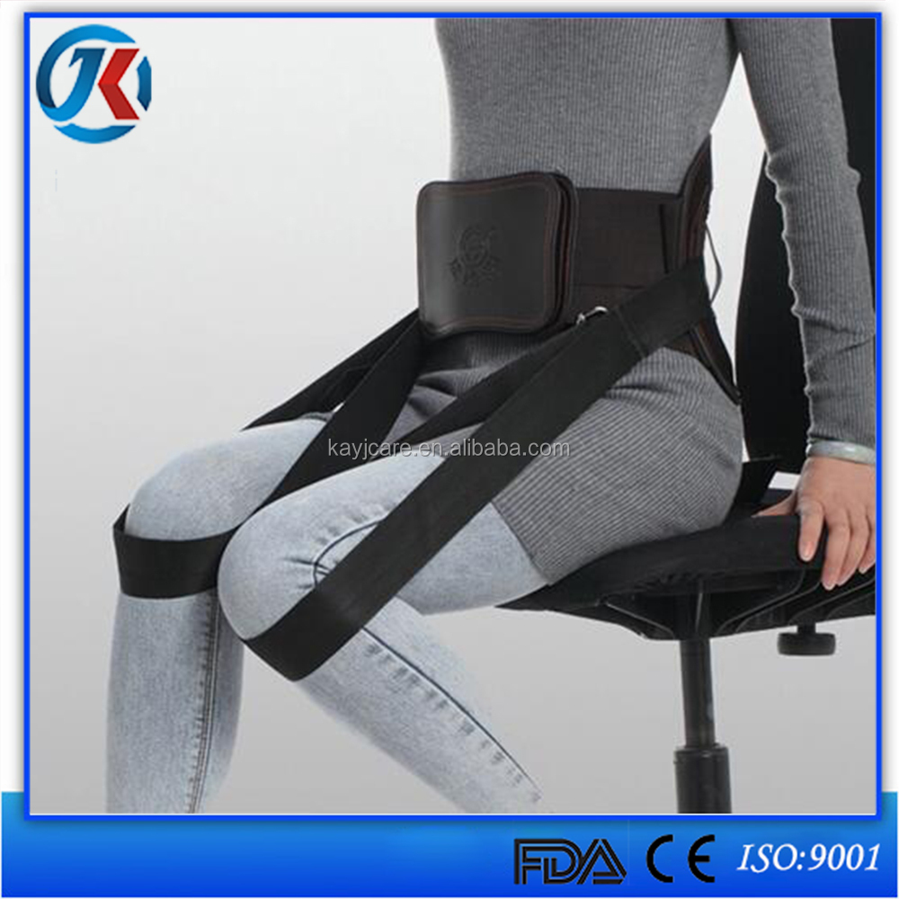 2016 Hot products Magnetic Back Support/ Lumbar Waist Support of Tourmaline Self Heat