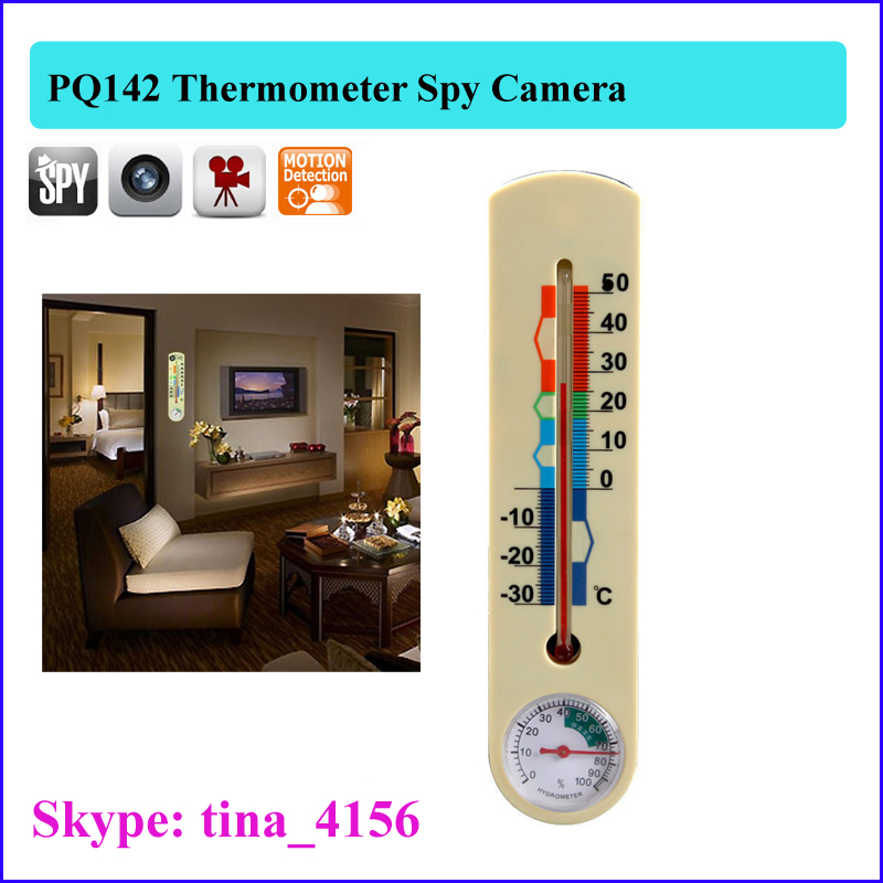 4/8/16/32GB thermometer hidden camera with take photo function
