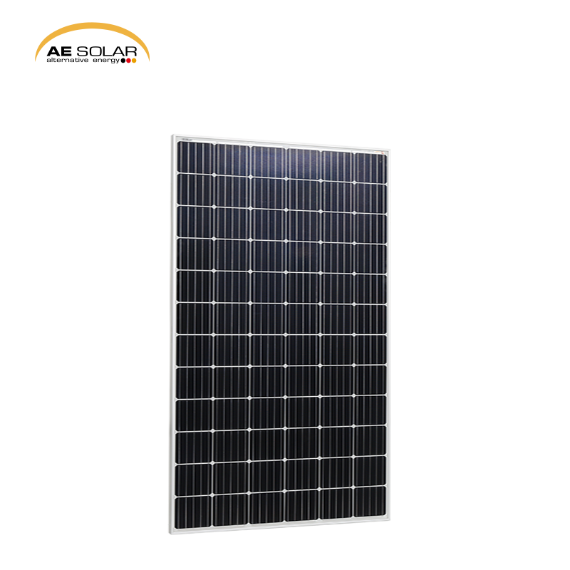 Germany Technique High Quality Cheapest Aluminum Frame AE M6-72 Series 340W-345W Monocrystalline Solar Panel