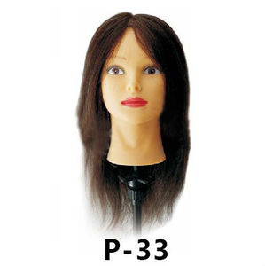 100% human hair styling training head wholesale price