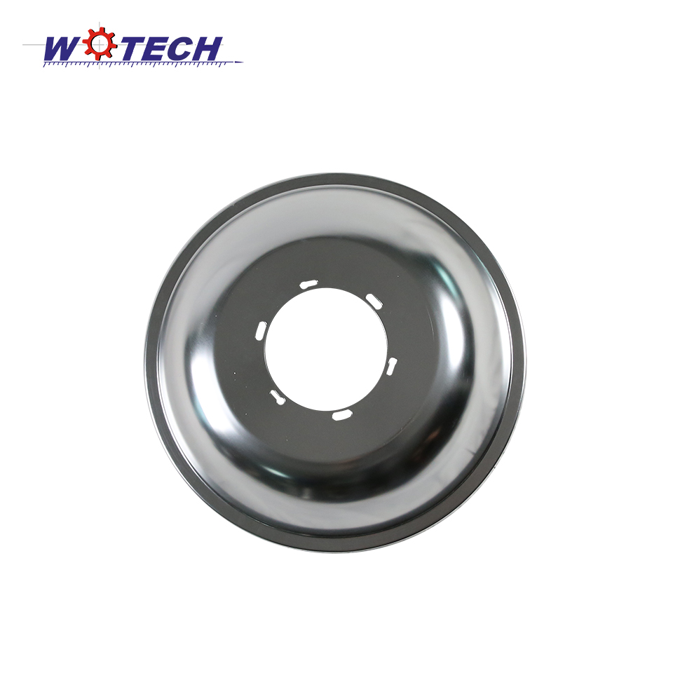Customized metal spinning parts lighting Made in China