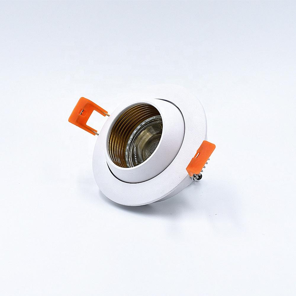 Hot new aluminum die casting led downlight GU10 MR16 led spot light housing