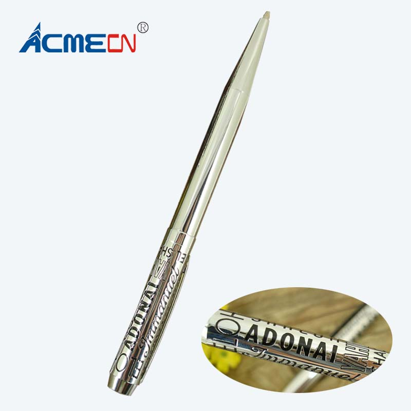 ACMECN High-tech Custom Design Etching Metal Ballpoint Pen OECM or ODM personalized Pen Ball Unique Design Logo brand Pens