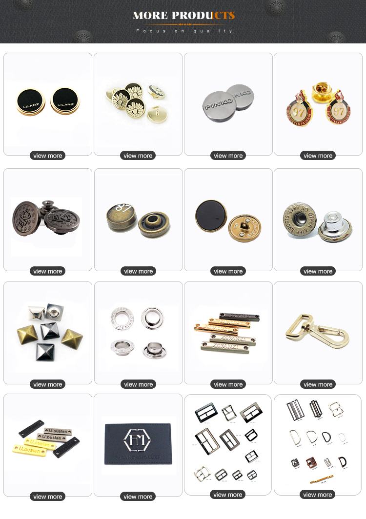 Fashion Black Plastic Snap Fastener Custom Logo Button Metal Snap Button Snaps Press Button for Clothing Jacket Blazers Garments