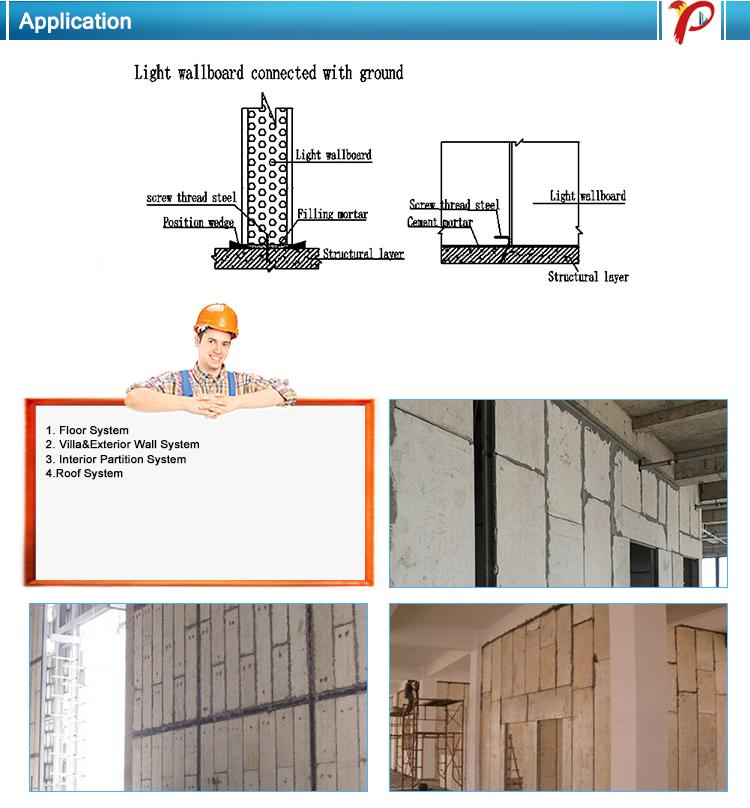 Energy Saving Fireproof Houses Sound Insulated Eps Cement