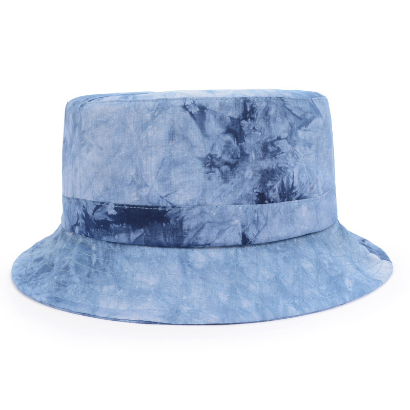 1a85544cde4 Get Quotations · New Design Tie-dye 100% Cotton Casual Bucket Hats Unisex  Sports Fisherman Hat Hunting