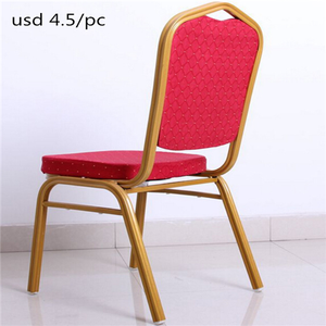 Hotel used new design stackable cheap wedding hall furniture banquet chair