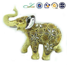 Home decorative elephant insect acrylic resin casting