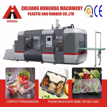 HONGHUA Full Automatic Plastic Container making machine