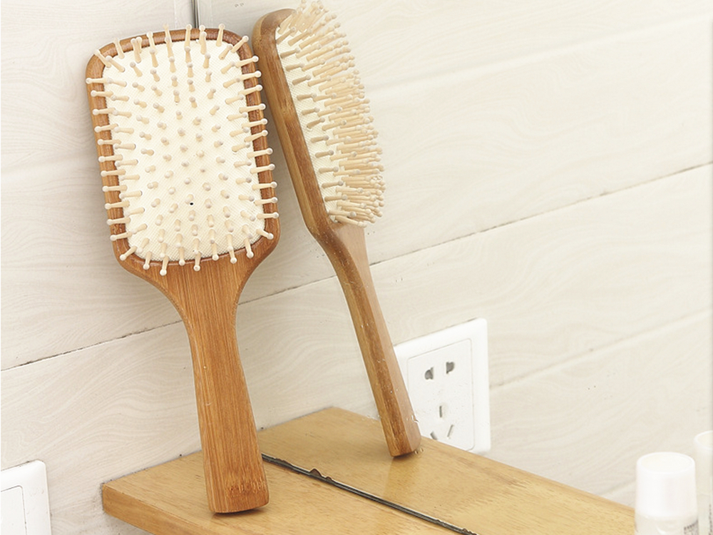 Personal Care Bamboo Hair Comb Massage Brush