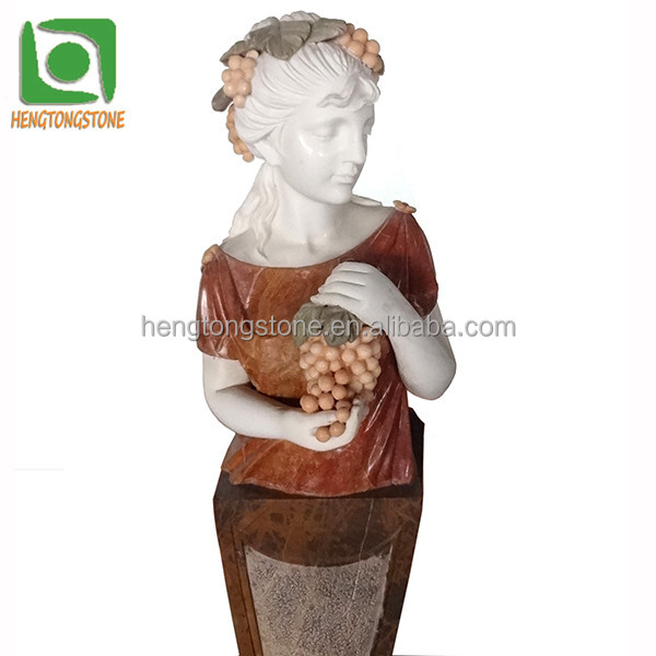 Carved Marble Four Season Garden Statues