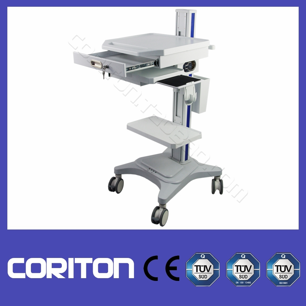 Excellent Quality!! Hospital Medical Trolley/ Mobile Computer Trolley