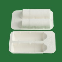 Professional factory made good quality molded sugarcane pulp radio packaging trays
