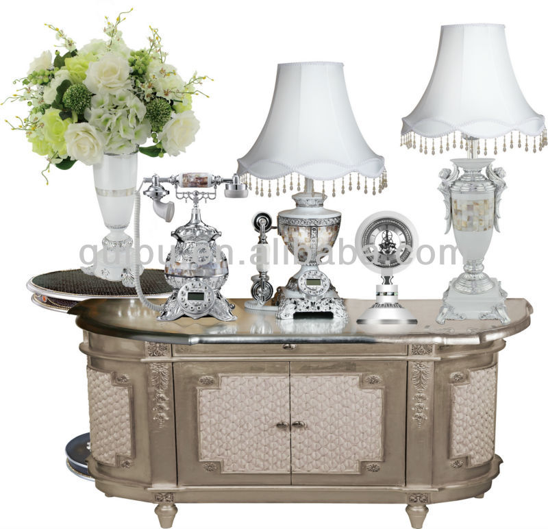 Beautiful sets for home hotel deco and interior home decoration items factory