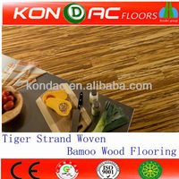 Tiger strand woven bamboo floor,tiger wood flooring,tiger stripe bamboo hardwood floor