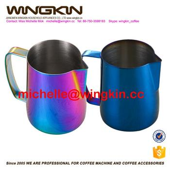 2017 Hot New Stainless Steel Coffee Jug Barista Milk Frothing