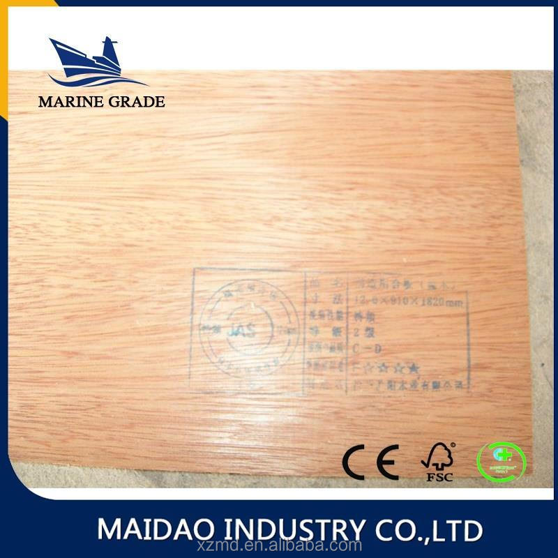 Marine Brand bulk plywood for wholesales