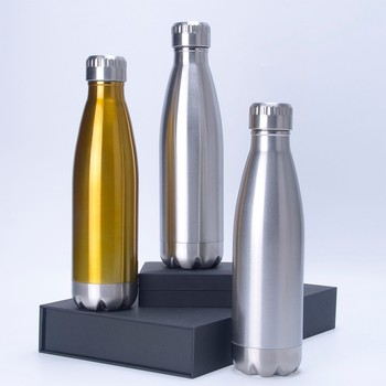 7db29801952 Vacuum insulated stainless steel thermal bottle oggi travel water bottle