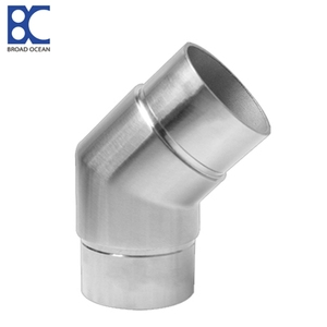 304sus 316L Stainless steel normal model 135 degree handrail elbow/bend(EB-56)