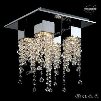 2018 Großhandel Moderne Längliche Esszimmer Kristall Decke Lampen Etl60130  - Buy Esszimmer Kristall Decke Beleuchtung,Quadratische Decken ...