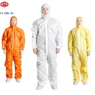 Disposable PP/SMS/Microporous coverall/protective clothing, disposable garment, crawl suit