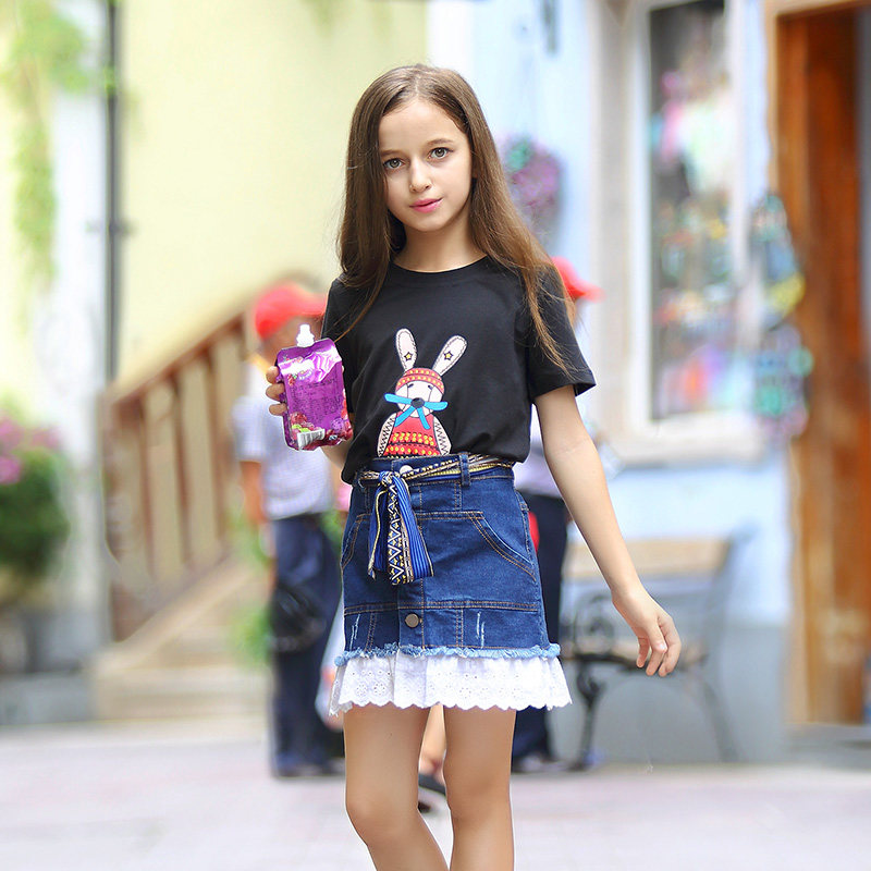 0aac01c55 Summer Clothes for Teen Girls Baby Kids Cotton Frock Designs Clothing Girl  Kids Dress For Age 5 6 7 8 9 10 11 12 13 14T Years | Girly girl fashion |  Dresses ...