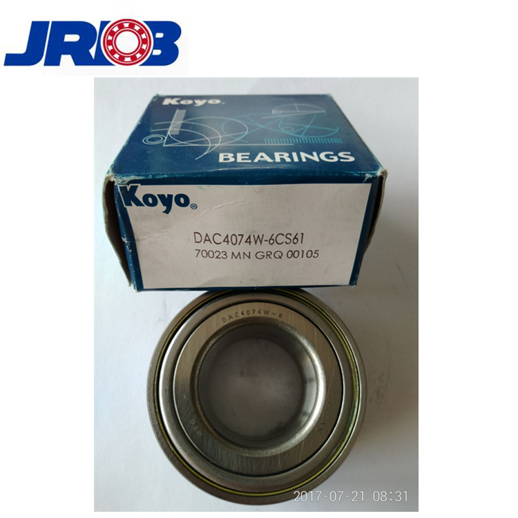 Japan koyo front wheel hub bearing DAC4074W 6CS61
