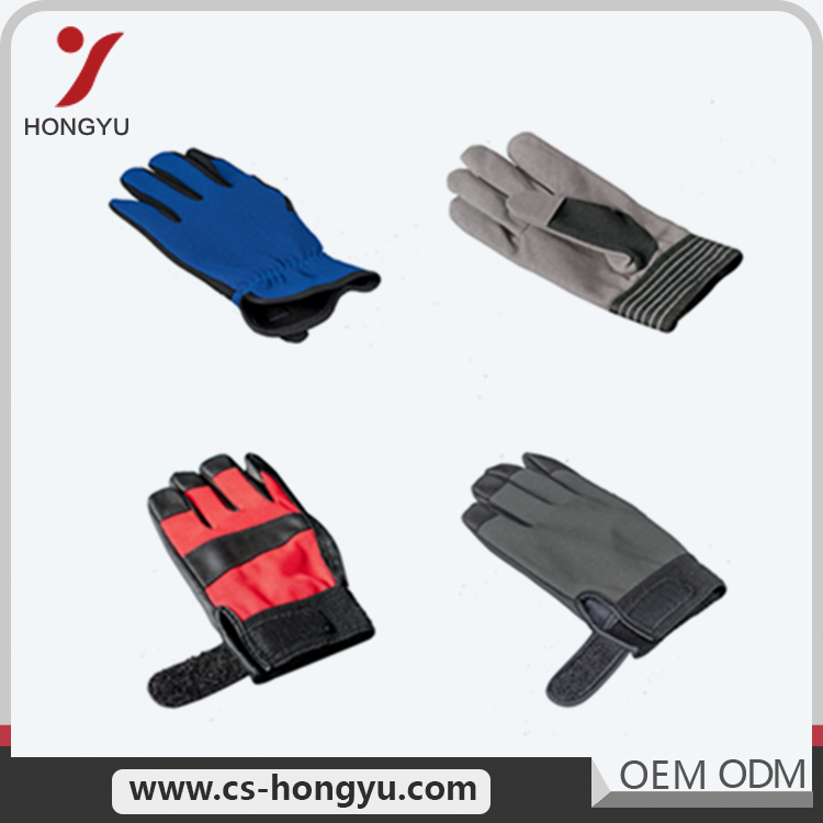 High density customized Wholesale Safety driving PU Glove