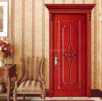 Wooden door design with architrave buy high quality for Door design narra