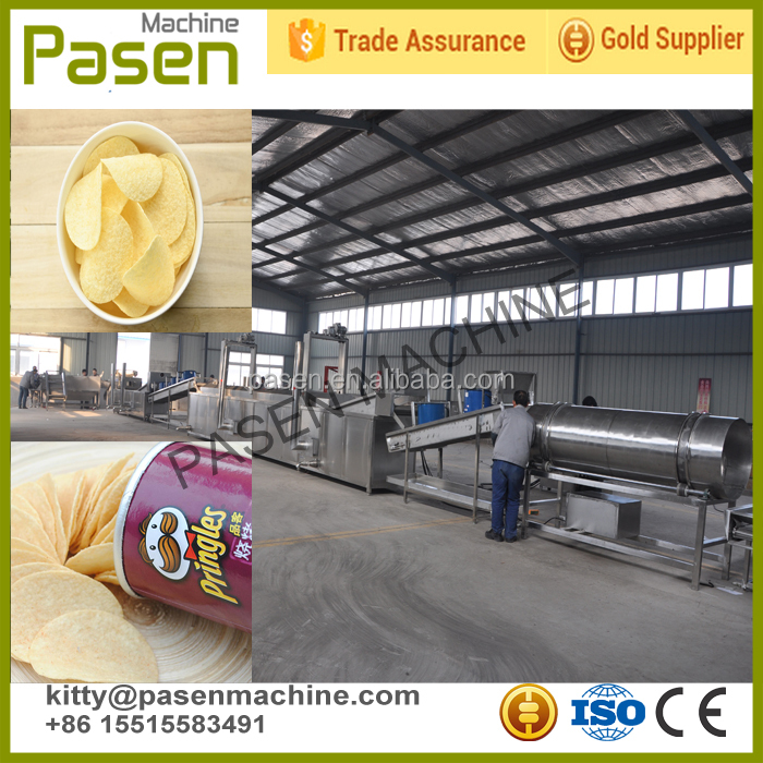 Industrial electricl Stainless steel potato chips ptoduction <strong>line</strong>