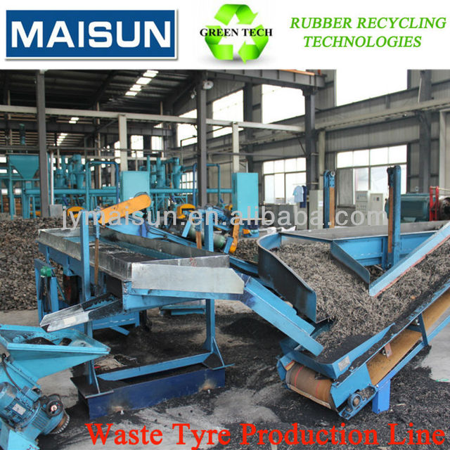 Waste tire recycling equipment(rubber powder making machine)