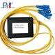 1X8 Polarization Maintaining 0.6 Loss Uniformity Optical Communication System PLC Splitter