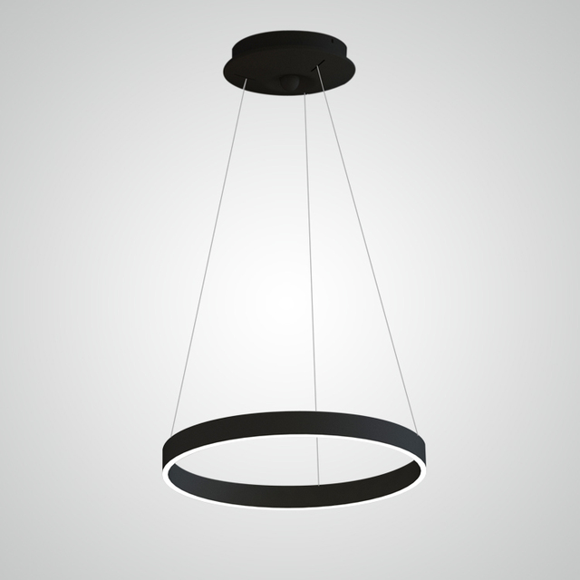 Buy cheap china chandelier body products find china chandelier body modern luxury aluminum body acrylic shade round circle ring led pendant lighting chandelier modern black for mozeypictures Images