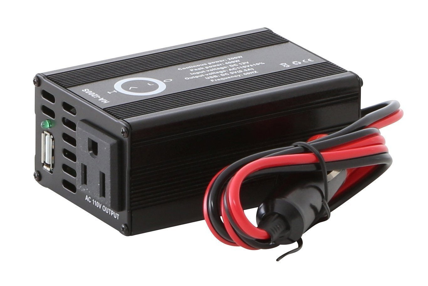 Cheap 200 Watt Inverter Circuit Diagram Find 12v Battery Wiring Also Get Quotations Halo Automotive Standard Power Dc To 110v Ac With Usb Car