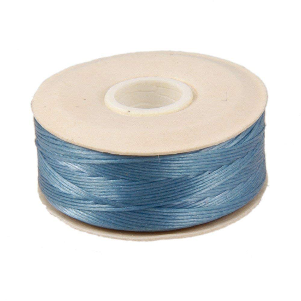 Nylon Beading NYMO Thread Size D for Delica Beads Royal Blue 64 Yards 58 Meters